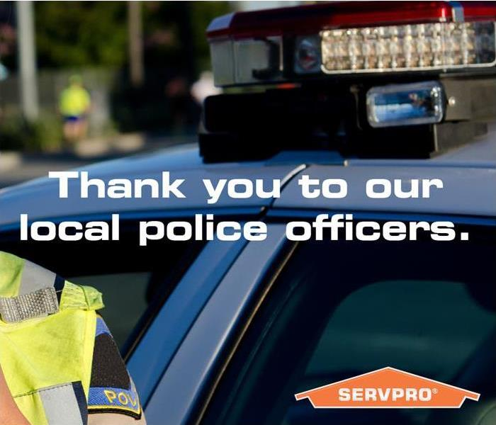Commercial Local Police Support SERVPRO of Laguna Hills/ Laguna Niguel
